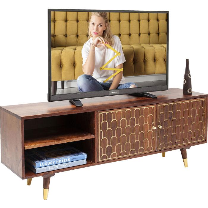 Έπιπλο TV Muskat Καφέ 140 εκ.