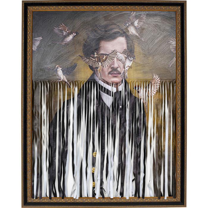 Πίνακας Gentleman Cuts Πολύχρωμος 163x130 εκ.