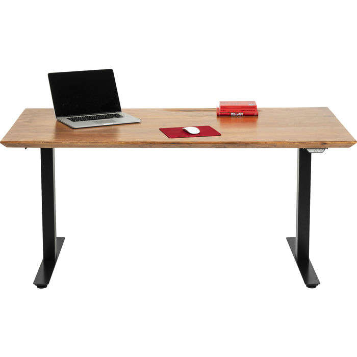 Desk Symphony Adjustable Brown-Black 160x80cm