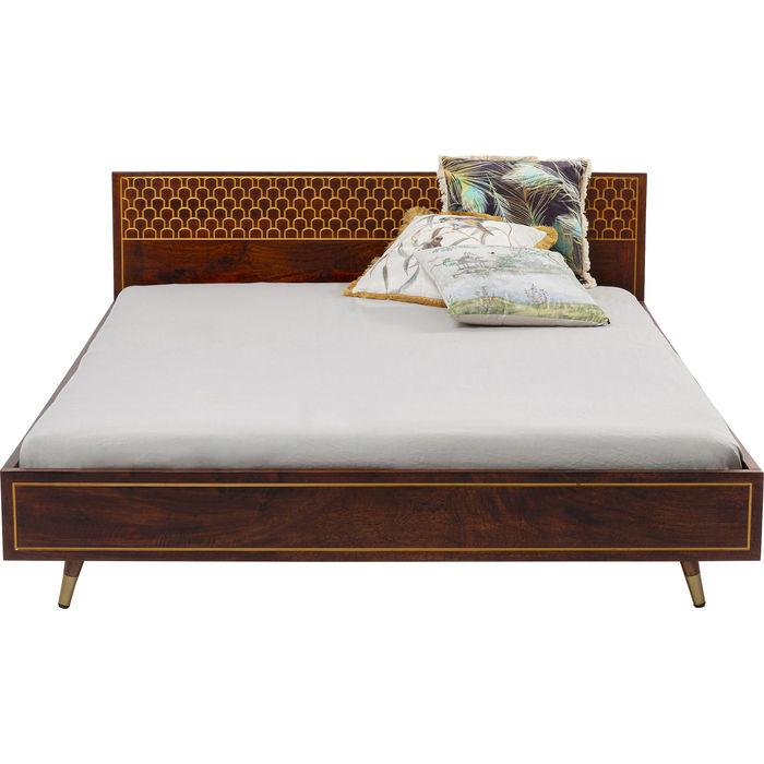 Κρεβάτι Muskat Μάνγκο Καφέ