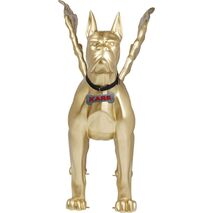 Deco Object Toto With Wings XL Gold Acrylic 206x112x200cm