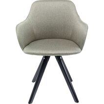 Swivel Chair With Armrests Lady Loco Green