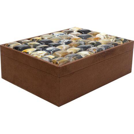 Κουτί Texas Καφέ Ξύλινο 40x30 εκ.